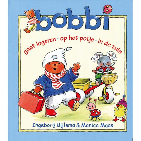 Bobbi gaat logeren, op het potje, in de tuin