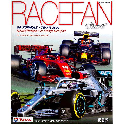 RaceFan Formule 1 start 2020