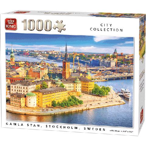 Legpuzzel Gamla Stan, Stockholm (1000 pcs)