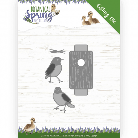 SNIJMAL busy birds BOTANICAL SPRING AMY DESIGN