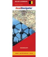 RoadNavigator Wegenkaart: België/Luxemburg