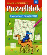Mijn Leerrijk Puzzelblok Raad 7 tot 8 jaar