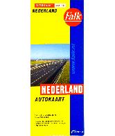 Autokaart Classic Nederland