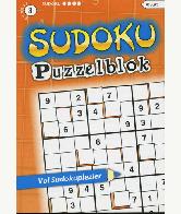 Sudoku Puzzelblok 4 ster