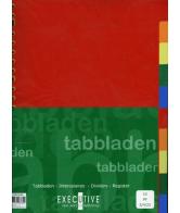 Tabbladen 23-R 10-Delig Plastic