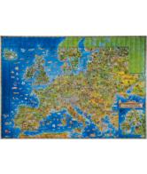 Kaart Europa voor kinderen