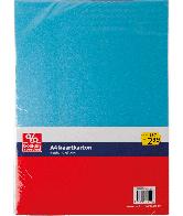 Kaartkarton A4 Metallic Kerst Blauw-Zilver