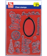 Clearstamps Kerst Jingle Bells