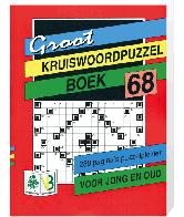 Groot puzzelboek Kruiswoord 68