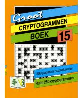 Groot puzzelboek Cryptogrammen 15