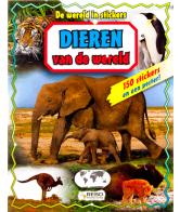 Dieren van de wereld stickerboek