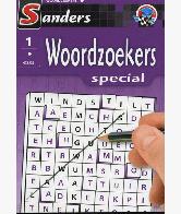 Woordzoekerspecial Puzzelblok 1 ster