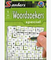 Woordzoekerspecial Puzzelblok 2 sterren