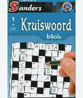 Kruiswoord Puzzelblok 1 ster