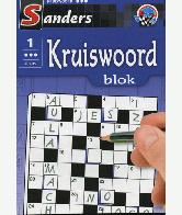 Kruiswoord Puzzelblok 3 sterren