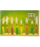 Kaart (184F) Verjaardagskaarsen