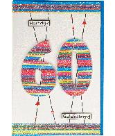 Kaart (823) Hartelijk Gefeliciteerd 60