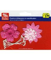 Papieren Bloemen Roze Party 2013
