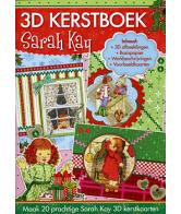 A4 3D Boek Kerst Sarah Kay 55