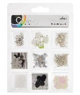 CU13 Embellishments zwart-wit
