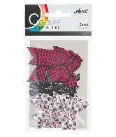 CU13 Strikjes Zwart-Wit