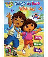 Dora & Diego Vakantieboek 12