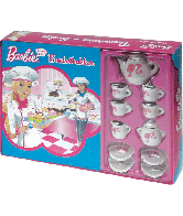Barbie Banketbakker en serviesje
