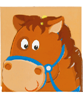 Kartonboek & Groeimeter Paard