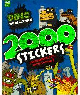 Dino Supersaurus 2000 Stickers