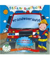 Sticker speelboek Brandweerauto