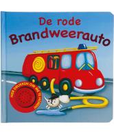 Geluidsboek rode brandweerauto