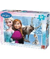 Frozen Legpuzzel 50 stuks (a&b)