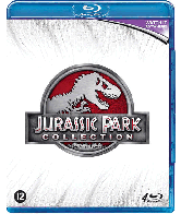 Blu-ray Jurassic park 1 t/m 4 boxset (4 dvd's)