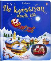 DE KERSTMAN DEELT UIT