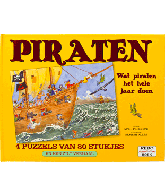 Piraten puzzelboek
