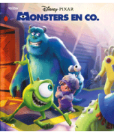 Disney lees & luisterboek Monsters en Co