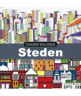 Creatief Kleurboek Steden