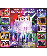 Cd Toppers in concert 2016 Royal night of disco