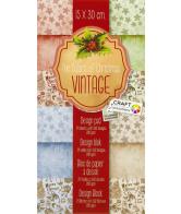 Papierblok Vintage Classic 15x30 cm