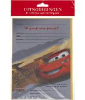 Cars Uitnodigingskaarten