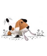 Haakpakket wollowbies hessel hond
