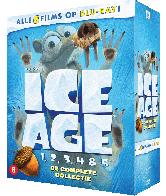 Dvd Ice Age 1-5 de complete collectie
