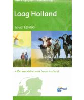 ANWB Topografische wandelkaart Laag Holland