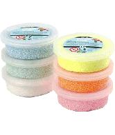 Foam Clay, kleiset 6 kleuren