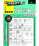 Puzzelblok zweeds 4 punt nr 1