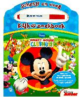 Mickey mouse clubhuis:schrijf en veeg