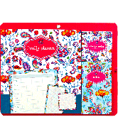 Sticky Notes Family planner bloemen