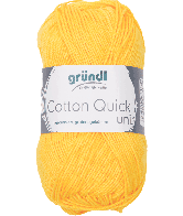 Cotton Quick Uni 138 MAIS GEEL 50GR