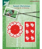 Joy Crafts snijmal sweet christmas
