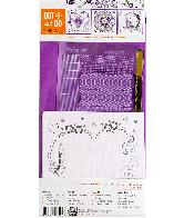 Dot and Do 123 - Purple Flowers